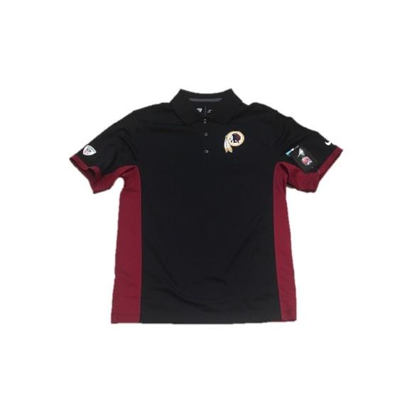 cd0f2965 Washington Redskins Nike Dri Fit Polo Shirt Small NWT